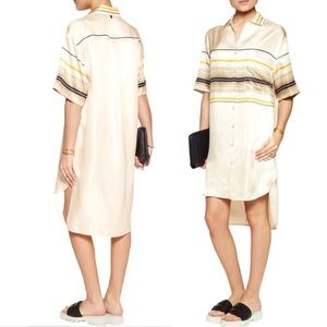 Rag & Bone // Silk Sail Shirtdress